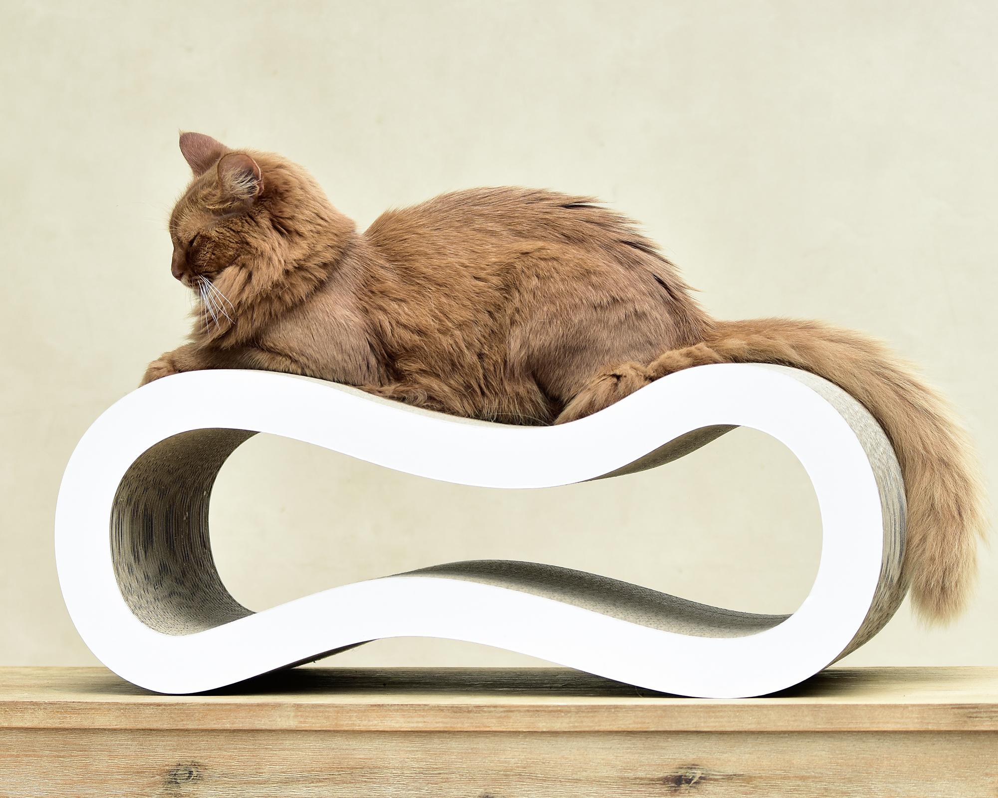 Katzenkratzpappe, billiges Kratzbrett aus Wellpappe