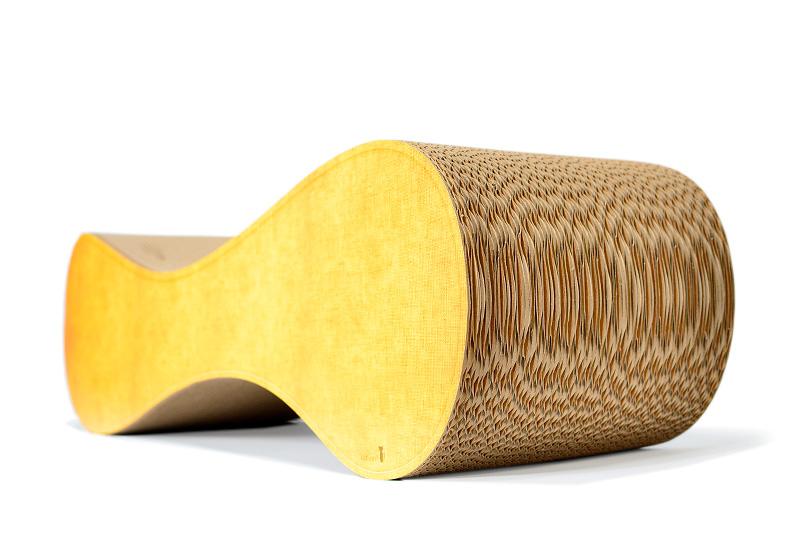 Kratzpappen, robustes Kratzbrett aus Wellpappe